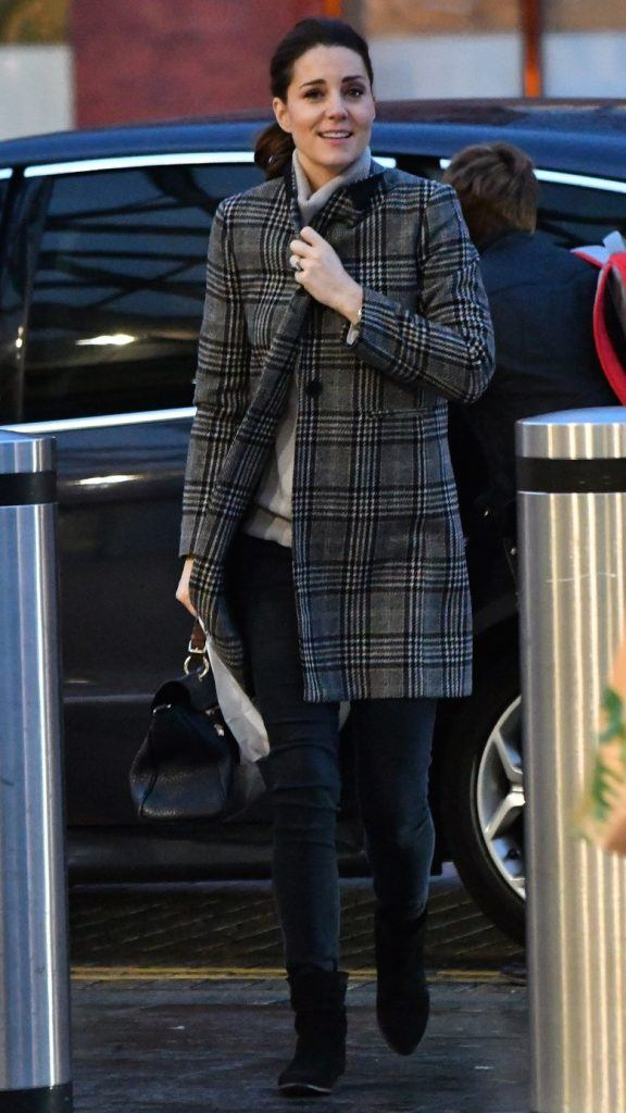 kate-middleton-duchess-of-cambridge-wearing-zara-coat-576x1024 Kate Middleton's Outfits-25 Best Dressing Styles Of Kate To Copy