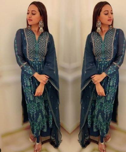 sonakshi-senha-outfit8-416x500 Sonakshi Sinha Outfits-25 Dressing Styles of Sonakshi to Copy