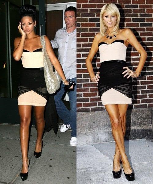 1-An-Awang-Dress Paris Hilton Outfits-25 Best Dressing Styles of Paris Hilton to Copy