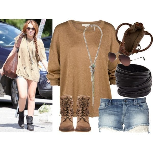 1-Because-Rags-Are-Fashion-Too Miley Cyrus Outfits-25 Best Dressing Styles of Miley Cyrus to Copy