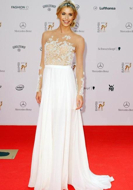1-Some-Wedding-Vibes Lena Gercke Outfits-25 Best Dressing Style of Lena Gercke to Copy