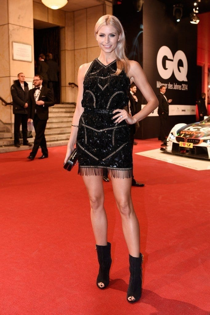 10-A-Heavily-Designed-Glamor-682x1024 Lena Gercke Outfits-25 Best Dressing Style of Lena Gercke to Copy
