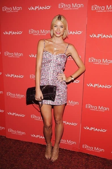 14-A-Flowery-Printed-Prettiness Lena Gercke Outfits-25 Best Dressing Style of Lena Gercke to Copy