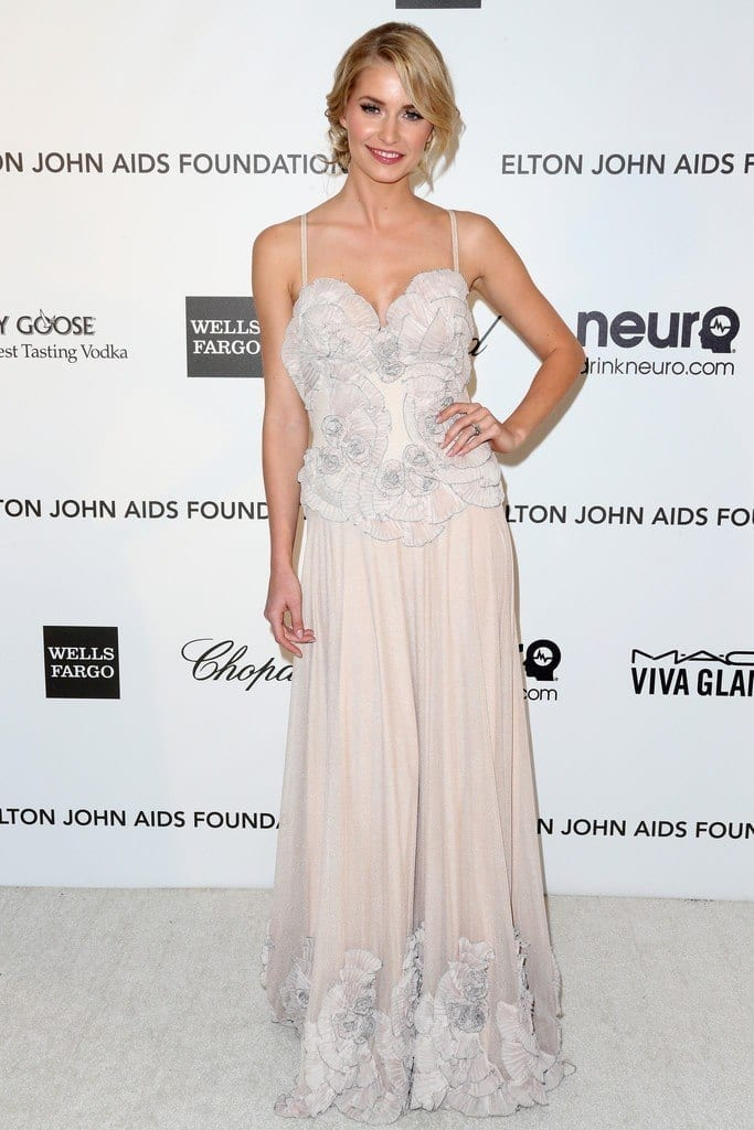 15-A-Mesmerizing-Evening-Dress-683x1024 Lena Gercke Outfits-25 Best Dressing Style of Lena Gercke to Copy