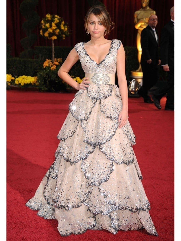 24-A-Dreamy-Princessy-Long-Dress-768x1024 Miley Cyrus Outfits-25 Best Dressing Styles of Miley Cyrus to Copy