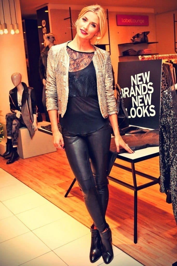 25-A-Swagging-Leather-Jeans-Outfit-683x1024 Lena Gercke Outfits-25 Best Dressing Style of Lena Gercke to Copy