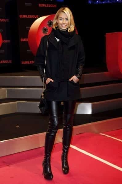 3-A-Cosy-Night-Style Lena Gercke Outfits-25 Best Dressing Style of Lena Gercke to Copy