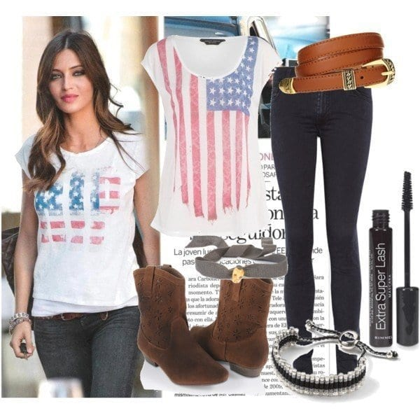 4-America-inspired-Style Sara Carbonero Outfits-25 Best Dressing of Sara Carbonero to Copy