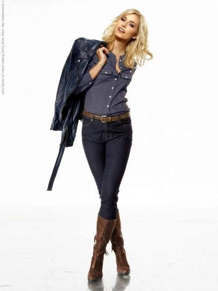 7-Another-from-Heine-Catalog Lena Gercke Outfits-25 Best Dressing Style of Lena Gercke to Copy