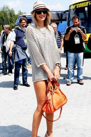 8-A-Tropical-Day-Outfit Lena Gercke Outfits-25 Best Dressing Style of Lena Gercke to Copy