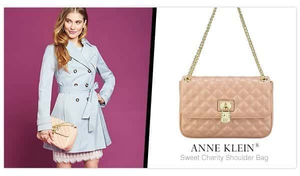Anne-Klein-Sweet-Charity-Shoulder-Bag Best Outfits to go with Tiny Bags-20 Ideas on How to Wear Mini Bags