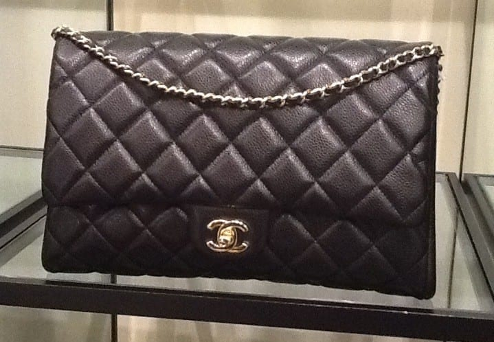 Chanel-Black-New-Clutch-Caviar-Bag-fall-2012 Best Branded Clutches – Top 20 Clutches for Women In 2016