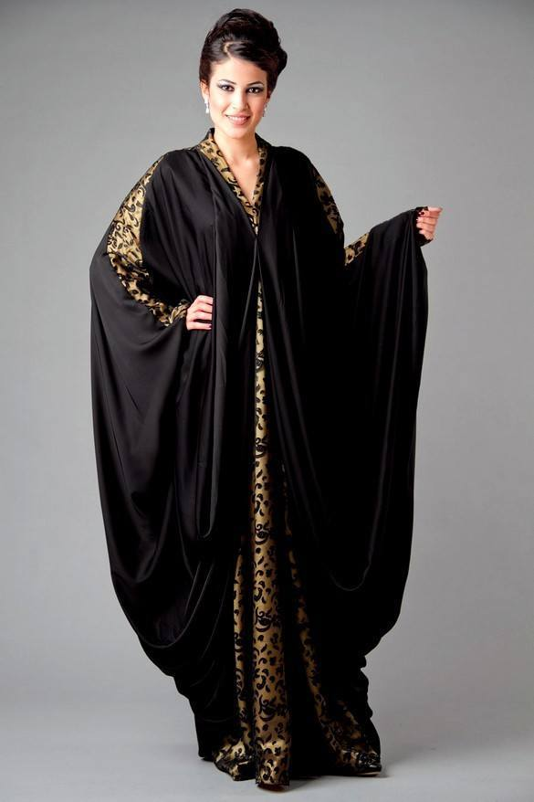 Dubai-Abaya-Dresses-Fashion-Designs-2013-Islamic-Abaya-Kaftans-Designs-2 Kaftan Abaya Designs-18 Latest Styles to Buy Online Now
