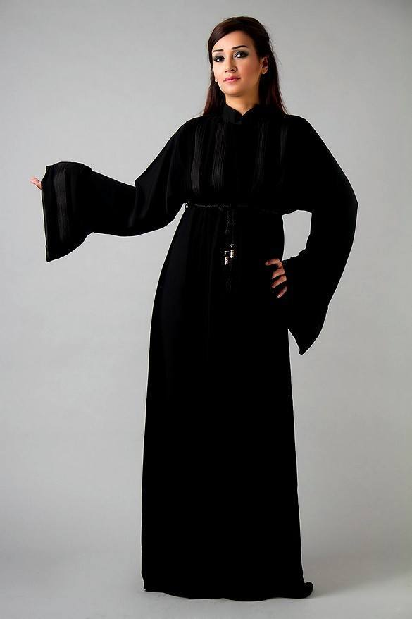 Dubai-Abaya-Dresses-Fashion-Designs-2013-Islamic-Abaya-Kaftans-Designs-3 Kaftan Abaya Designs-18 Latest Styles to Buy Online Now