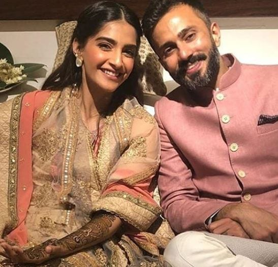 Sonam-and-Ahuja-bollywood-couple The Best and Cutest Bollywood Real Life Couples who Married