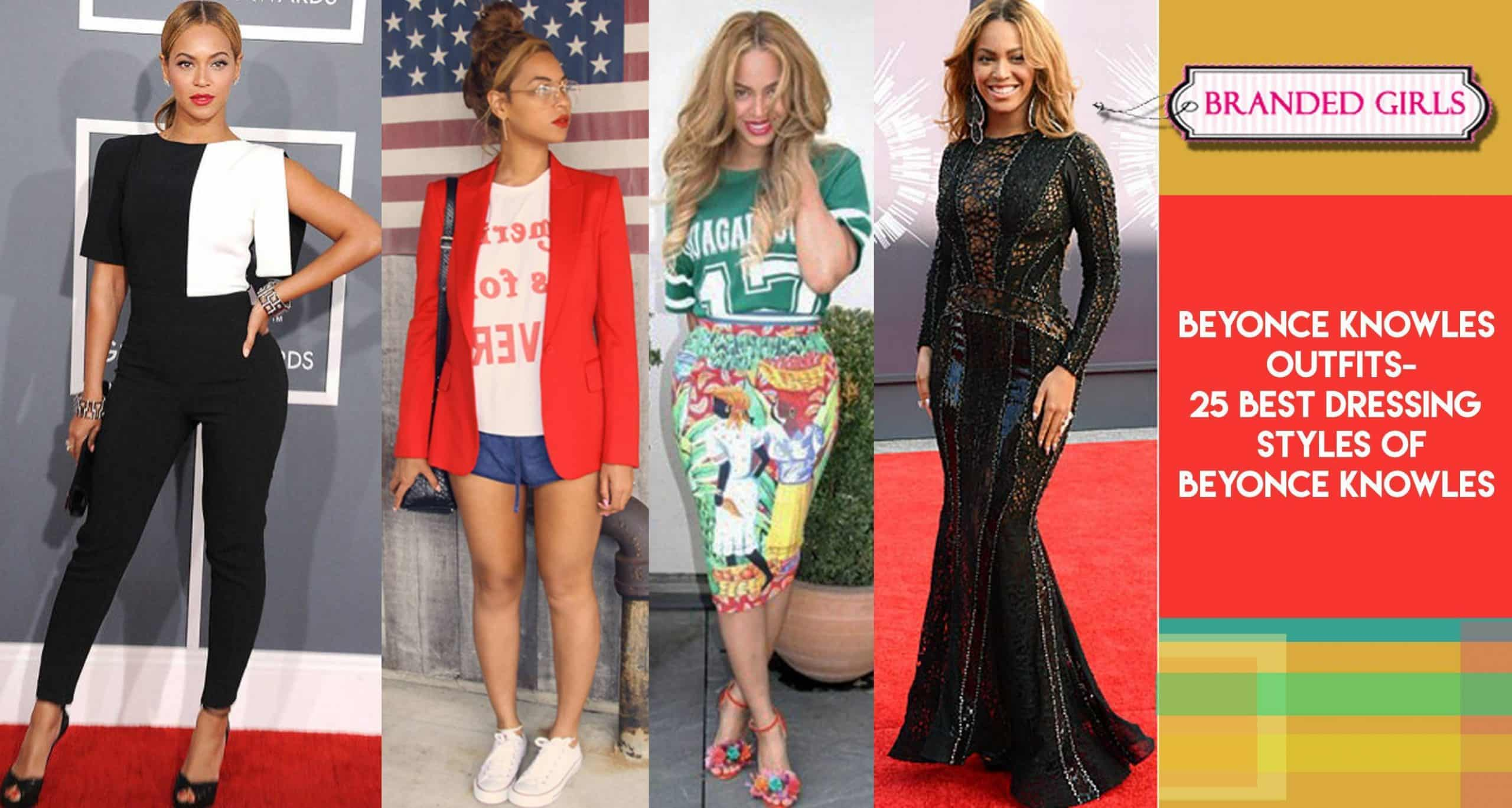 beyonce-outfits Beyonce Outfits - 25 Best Dressing Styles of Beyoncé to Copy