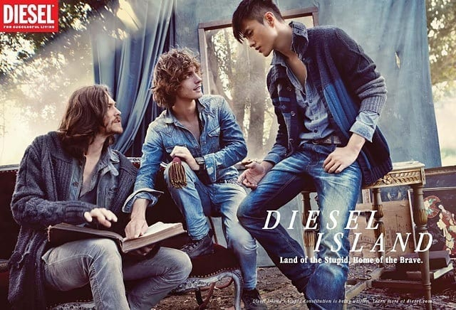 diesel-mens-campaign-jeans Preppy Brands for Men-Top 10 Brands Every Guy Must know to Shop