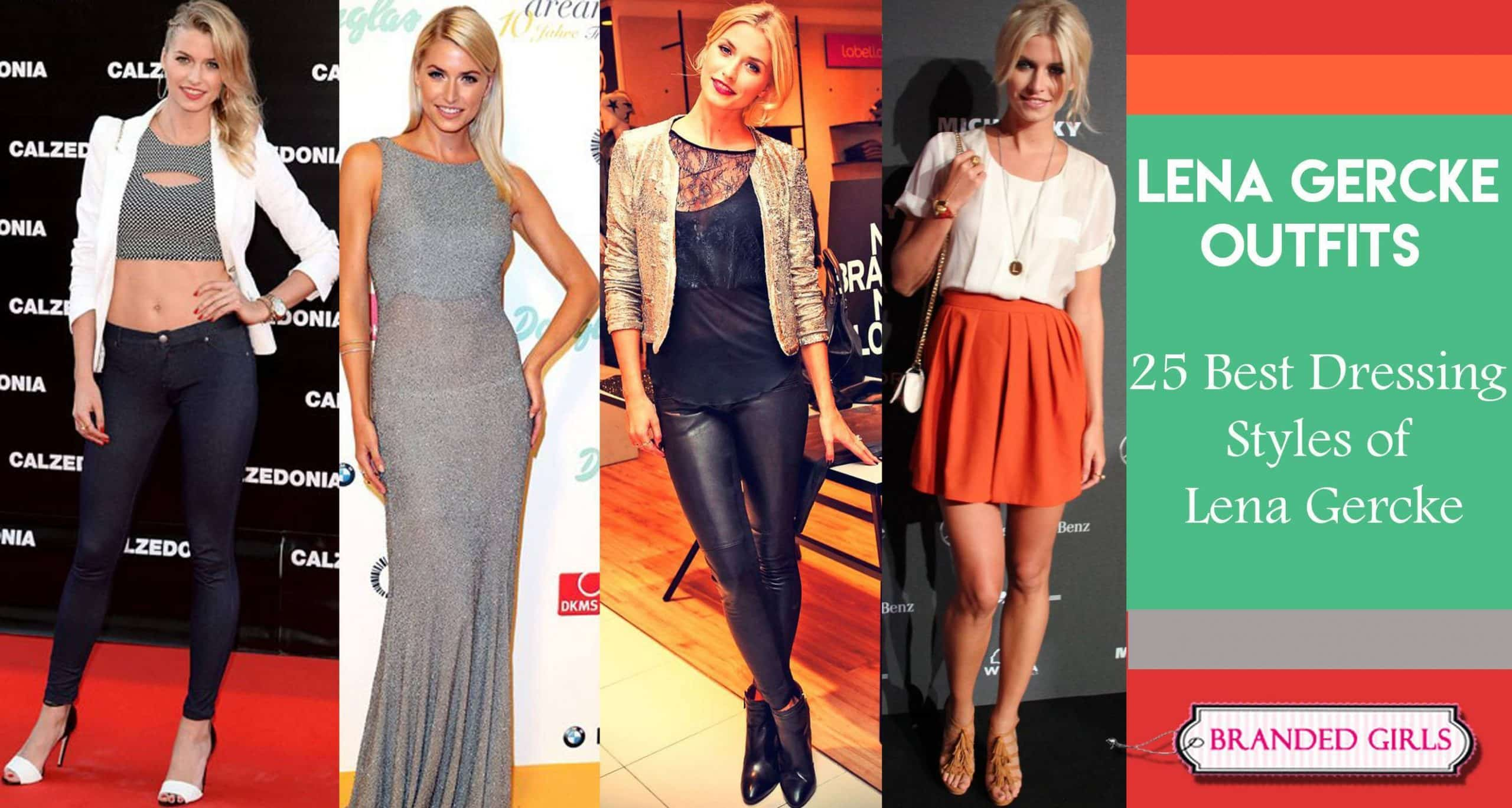 lena gercke outfits