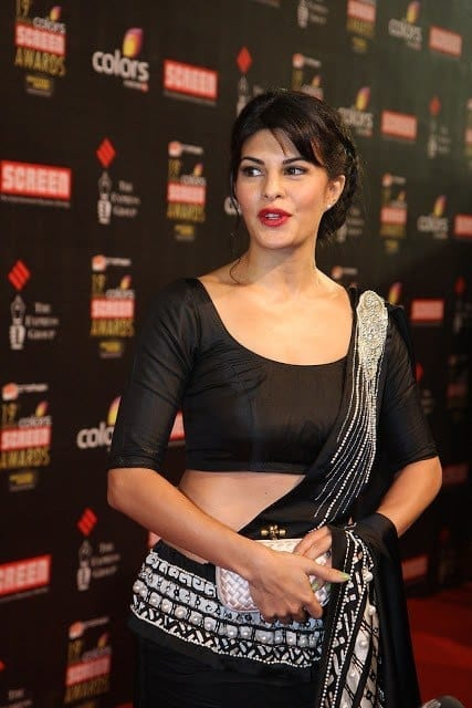 mm11q6ytkgitvp17.D.0.Jacqueline-Fernandez-at-the-19th-Annual-Colors-Screen-Awards-in-Mumbai-1- Jacqueline Fernandez Outfits-Top 20 Dressing Styles of Jacqueline This Year