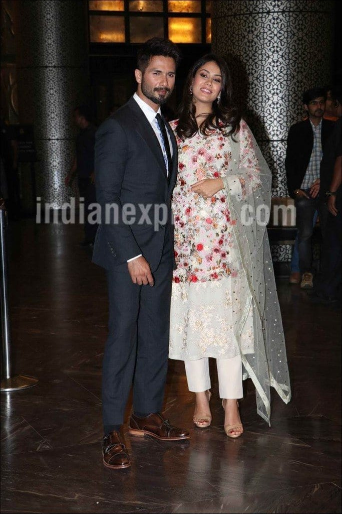 shahid-mira-1-1-683x1024 Preity Zinta Marriage Pics-Wedding Dress and Guest Celebrities Outfits