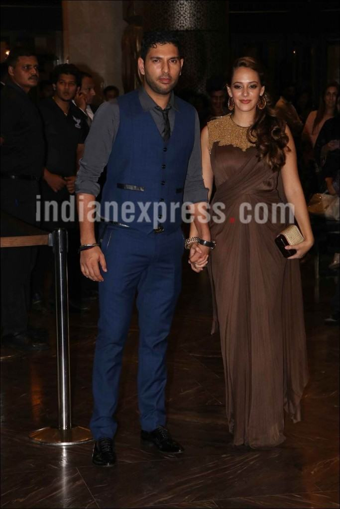 yuvraj-hazell-1-683x1024 Preity Zinta Marriage Pics-Wedding Dress and Guest Celebrities Outfits