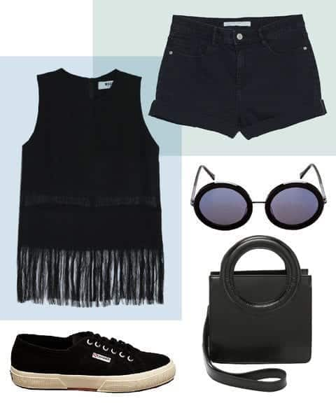 060716_SummerAllBlack_embed2REVISE All Black Summer Outfits - How to Wear all Black In Summer