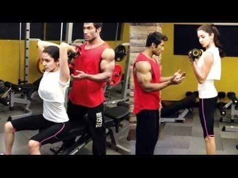 bollywood-workout-outfits-anushka-sharma Bollywood Celebrities Workout Outfits-20 Top Actresses Gym Style
