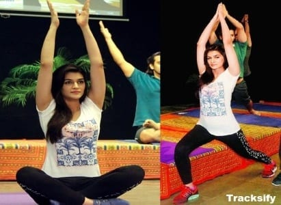 bollywood-workout-outfits-kriti-sanon Bollywood Celebrities Workout Outfits-20 Top Actresses Gym Style
