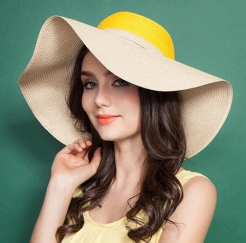 bow-floppy-straw-hat-women-uv-stitching-wide-brim-sun-hats-8308 Latest Summer Fashion Trends To Follow- Top Trends of 2016