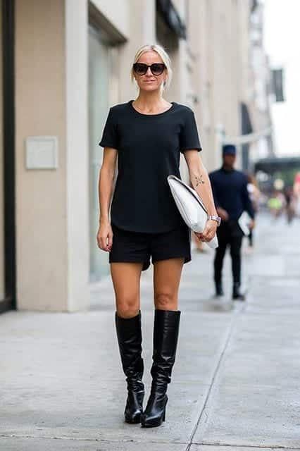 image All Black Summer Outfits - How to Wear all Black In Summer