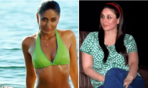kareena-kapoor-weight-loss Bollywood Celebrities Workout Outfits-20 Top Actresses Gym Style