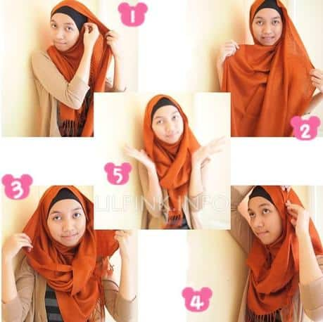 2-min Pashmina Hijab Styles-18 Ways to Wear Hijab With Pashmina