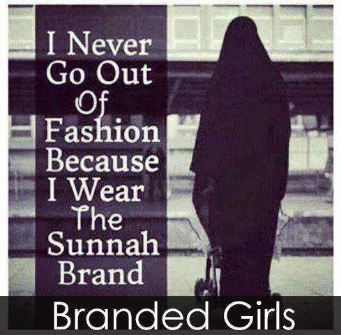 Inspirational-hijab-quote-image-I-never-go-out-of-fashion Hijab Quotations - 50 Best Quotes About Hijab In Islam