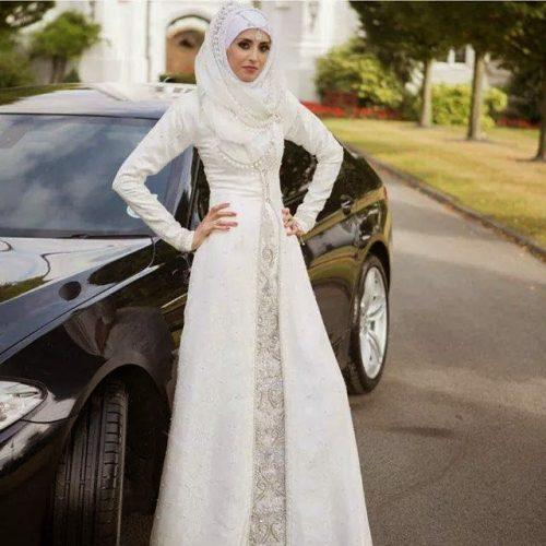 Latest-Abaya-Gown-Designs-with-Hijab-2015-2016-11-500x500 15 New Abaya Styles for Teenage Girls For Modest Look