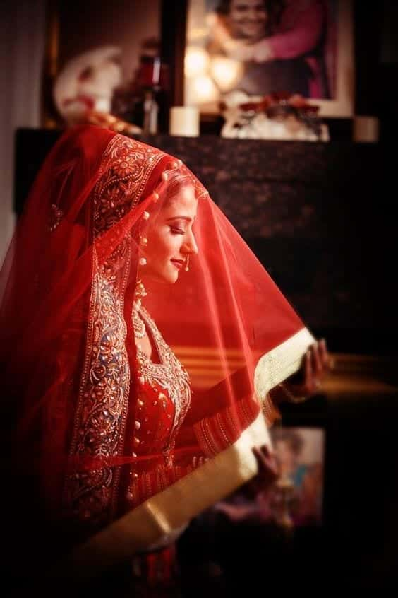 bridal-lehenda-dupatta-17 How to Wear Bridal Lehenga Dupatta in 10 Different Styles