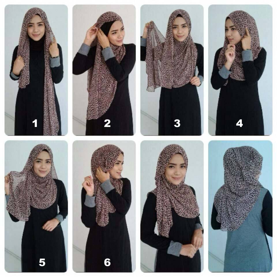 crinkle Pashmina Hijab Styles-18 Ways to Wear Hijab With Pashmina