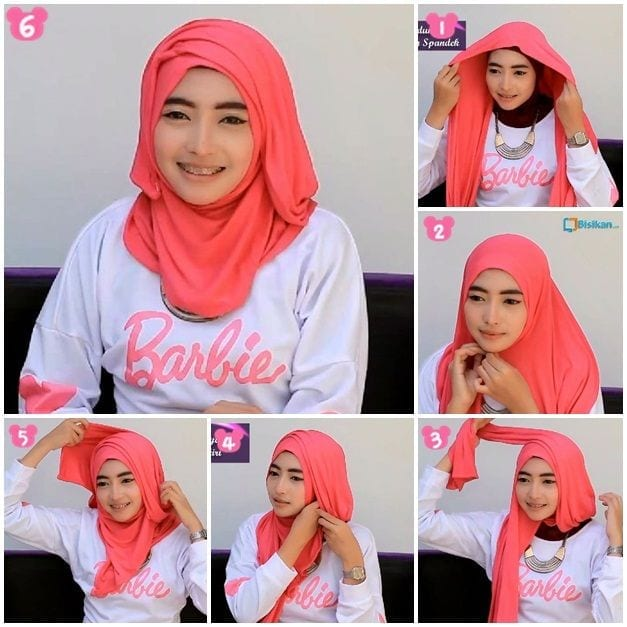cute Pashmina Hijab Styles-18 Ways to Wear Hijab With Pashmina
