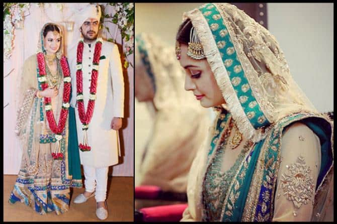 diyas-pretty-dress 10 Most Expensive Bollywood Wedding Dresses of All The Time