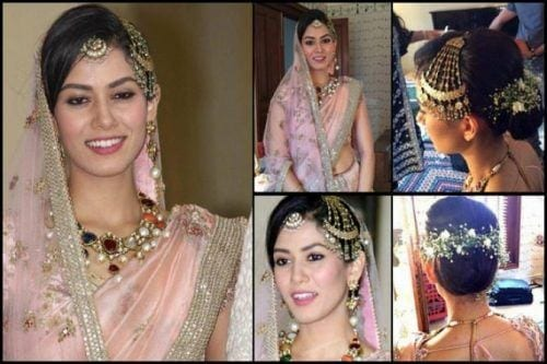 mira-rajput-dress-and-makeup-500x333 10 Most Expensive Bollywood Wedding Dresses of All The Time