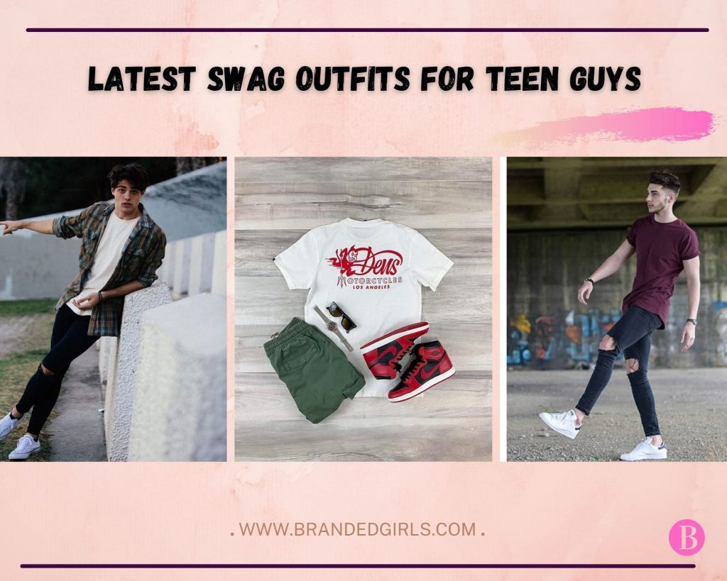 swag outfits for teen guys