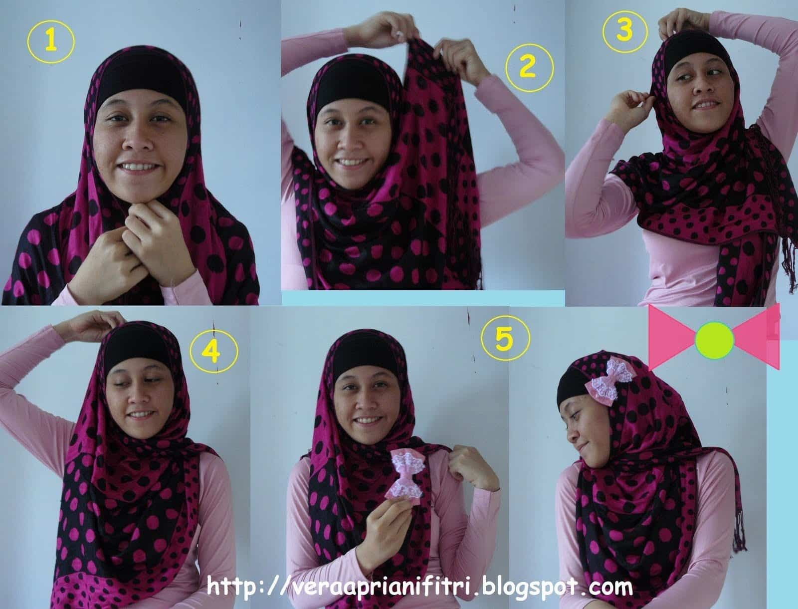 typical-style Pashmina Hijab Styles-18 Ways to Wear Hijab With Pashmina