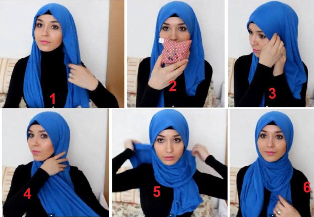 universal Pashmina Hijab Styles-18 Ways to Wear Hijab With Pashmina