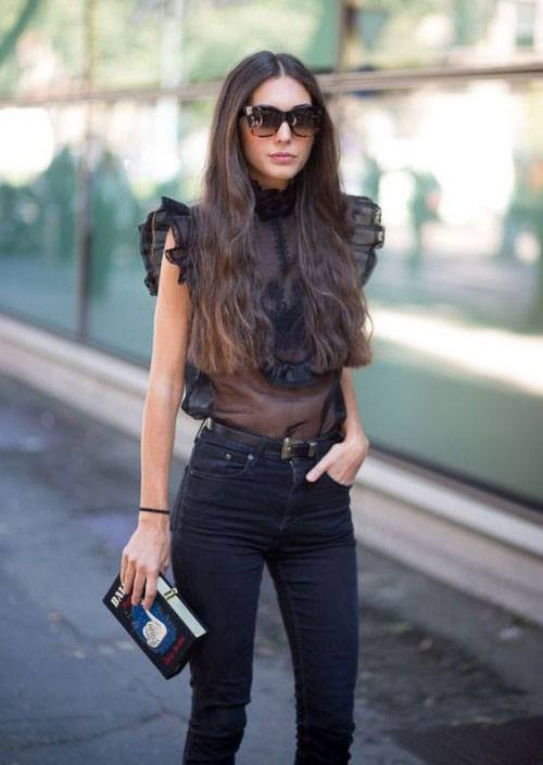 12-Casual-Spring-Street-Fashion-Styles-Ideas-For-Girls-2016-7 25 Cute Outfits for Skinny Girls-Ideas What to Wear being Skinny