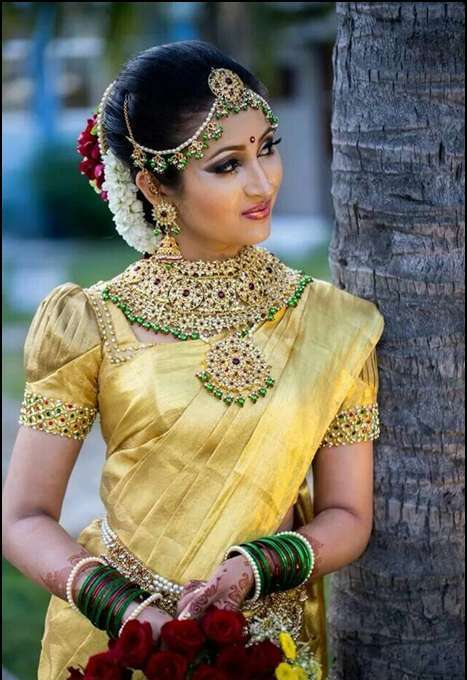 86b7ee1ce2 23 Latest South Indian Wedding Sarees To Try This Year