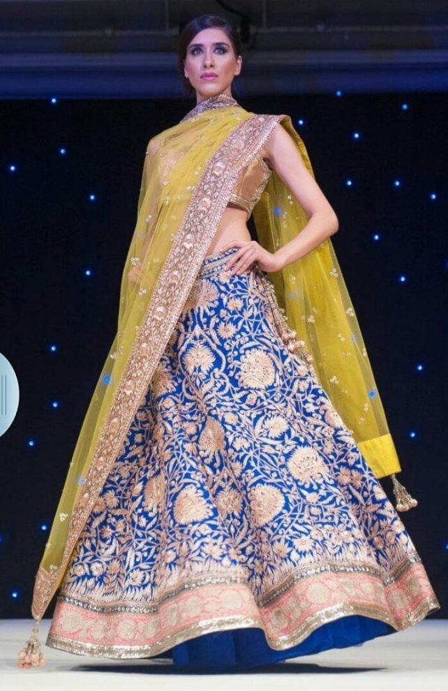 2-designer-sungeet-outfit-for-women Dholki Outfits-20 Ideas What to Wear on Dholki/Sangeet Night