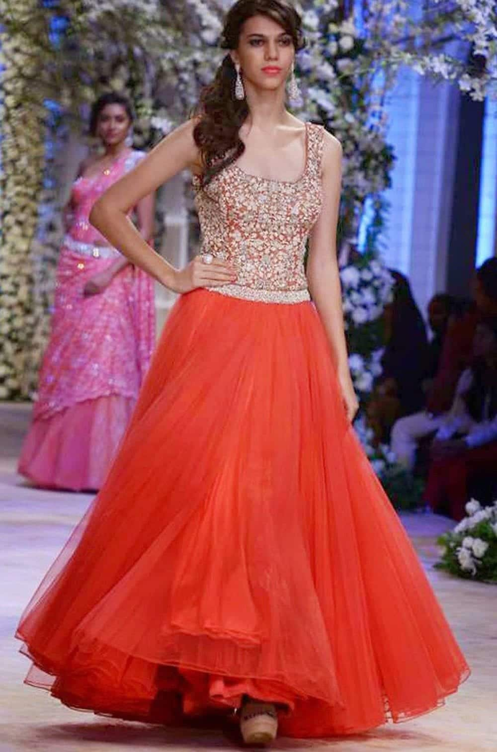 28 30 Latest Indian Bridal Gown Styles and Designs to Try this Year