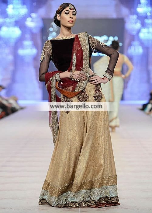 4941-l-asifa-nabeel-lehenga-bridesmaid-special-occassions Latest Bridesmaid Lehenga Designs-22 New Styles to Try in 2016