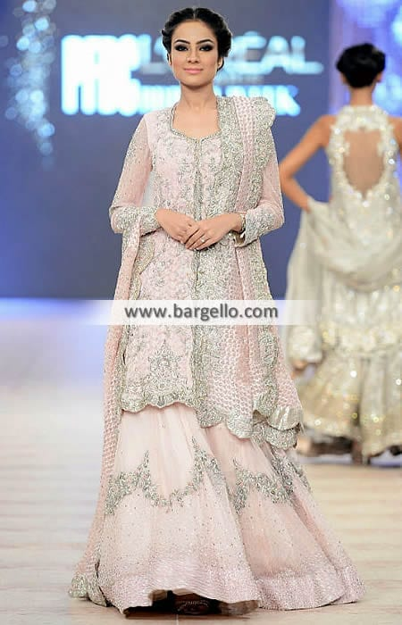 4985-l-indian-pakistani-wedding-lehenga-dresses-ammara-khan Latest Bridesmaid Lehenga Designs-22 New Styles to Try in 2016