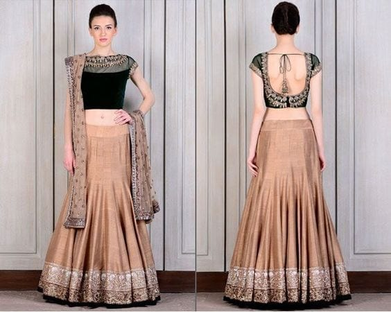 4cab9cbf617c09960101a32fac5571aa Latest Bridesmaid Lehenga Designs-25 New Styles To Try In 2019