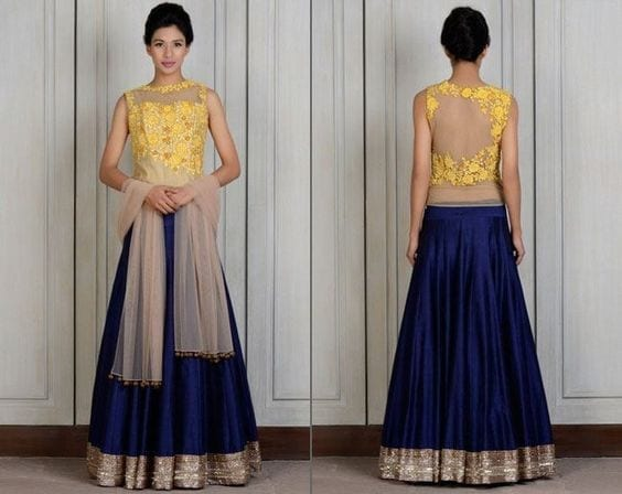 9d86a68651bdaa224c2c3d8c1746e453 Latest Bridesmaid Lehenga Designs-25 New Styles To Try In 2019